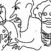 Etta Jo Was Gettin Jealous Art Print
