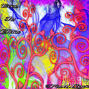 Even In Chaos Find Love Art Print