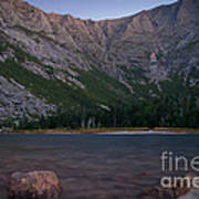 Evening At Chimney Pond  Art Print