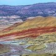 Evening In The Painted Hills Art Print