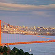 Evening Over San Francisco Art Print