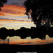 Evenings On The Water  Art Print