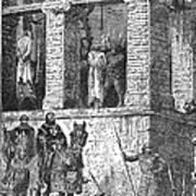 Execution Of Heretics Art Print
