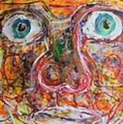 Exhibit Shocked Art Print by Shadrach Ensor
