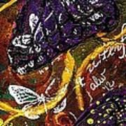 Exotic Butterflies I Art Print