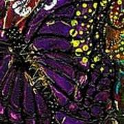 Exotic Butterflies II Art Print
