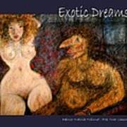 Exotic Dreams  Art Print