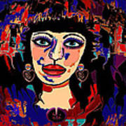 Exotic Woman Art Print