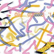 Experimental Expectations - Pink Art Print