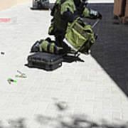 Explosive Ordnance Disposal Technician Art Print