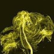 Explosive Yellow Art Print