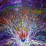 Eye Eruption Art Print