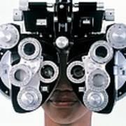 Eye Examination Art Print