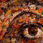 Eye Of Autumn Art Print