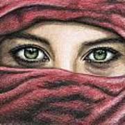 Eyes Magic Art Print