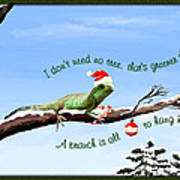 Ezekiels Christmas Art Print