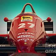 1985 Ferrari 156/85 F1 Nose Art Print