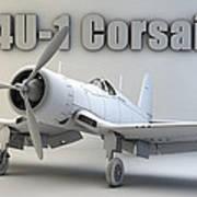 F4u-1 Corsair Art Print