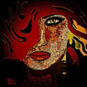 Face 10 Art Print