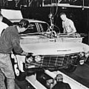 Factory: Chevrolet, 1960s Art Print