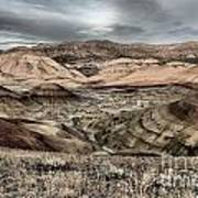 Faded Painted Hills Art Print