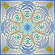 Fading Geometrics Art Print