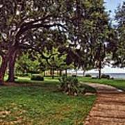 Fairhope Lower Park 2 Art Print