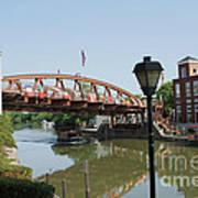 Fairport Lift Bridge Art Print