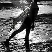 Fairy Water Dance Art Print