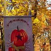 Fall Flag 1 Art Print