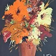 Fall Flower Arrangement 1 Art Print