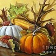 Fall Gatherings Art Print