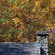 Fall House In Carolina Art Print