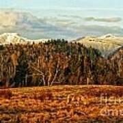 Fall Landscape-hdr Art Print