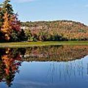 Fall On Lake Lila Art Print