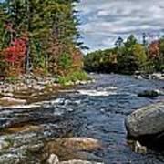Fall On Swift River Art Print