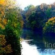 Fall Time Creek Art Print