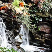 Fall Waterfall Art Print