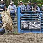 Fallen Cowboy Art Print