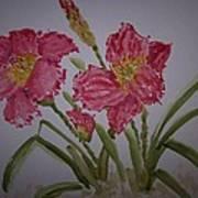 Falling Petal Art Print