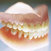 False Teeth Art Print
