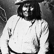 Famous Apache Leader, Geronimo Art Print by Everett