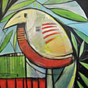 Fancy Bird Art Print