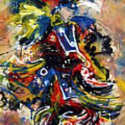 Fancy Dancer I Art Print