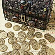Fancy Treasure Chest  Art Print