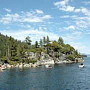Fannette Island Boat Party Art Print