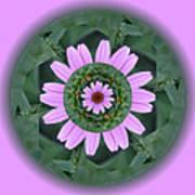 Fantasy Flower Art Print by Linda Pope