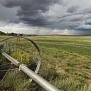 Farm Irrigation Sprinklers Next Art Print