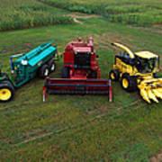 Farm Machinery Art Print