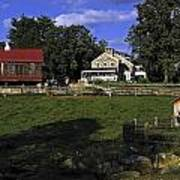 Farm Scene Art Print